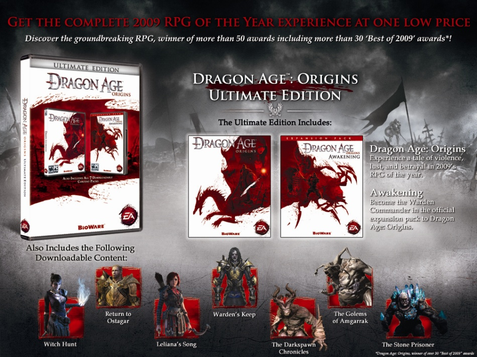 Game dragon age origins: ultimate edition ps3 nas lojas.