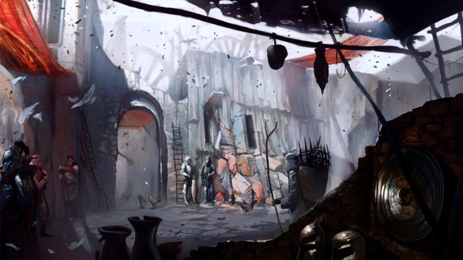 Dragon Age II Sreenshots and Concept Art